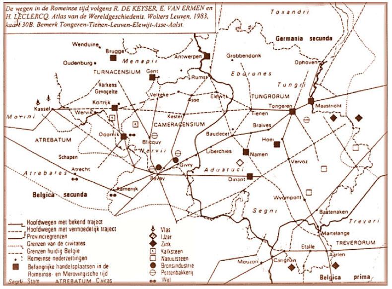 Atlas de l'histoire du monde - R. E. De Keyser et H. Leclerq- Ed. Wolters / Louvain - 1983