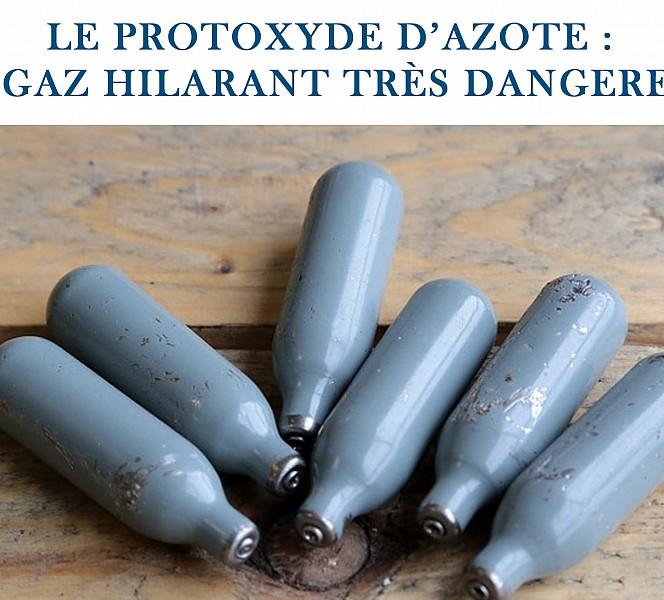 Arrêté vente et consommation Protoxyde d'azote
