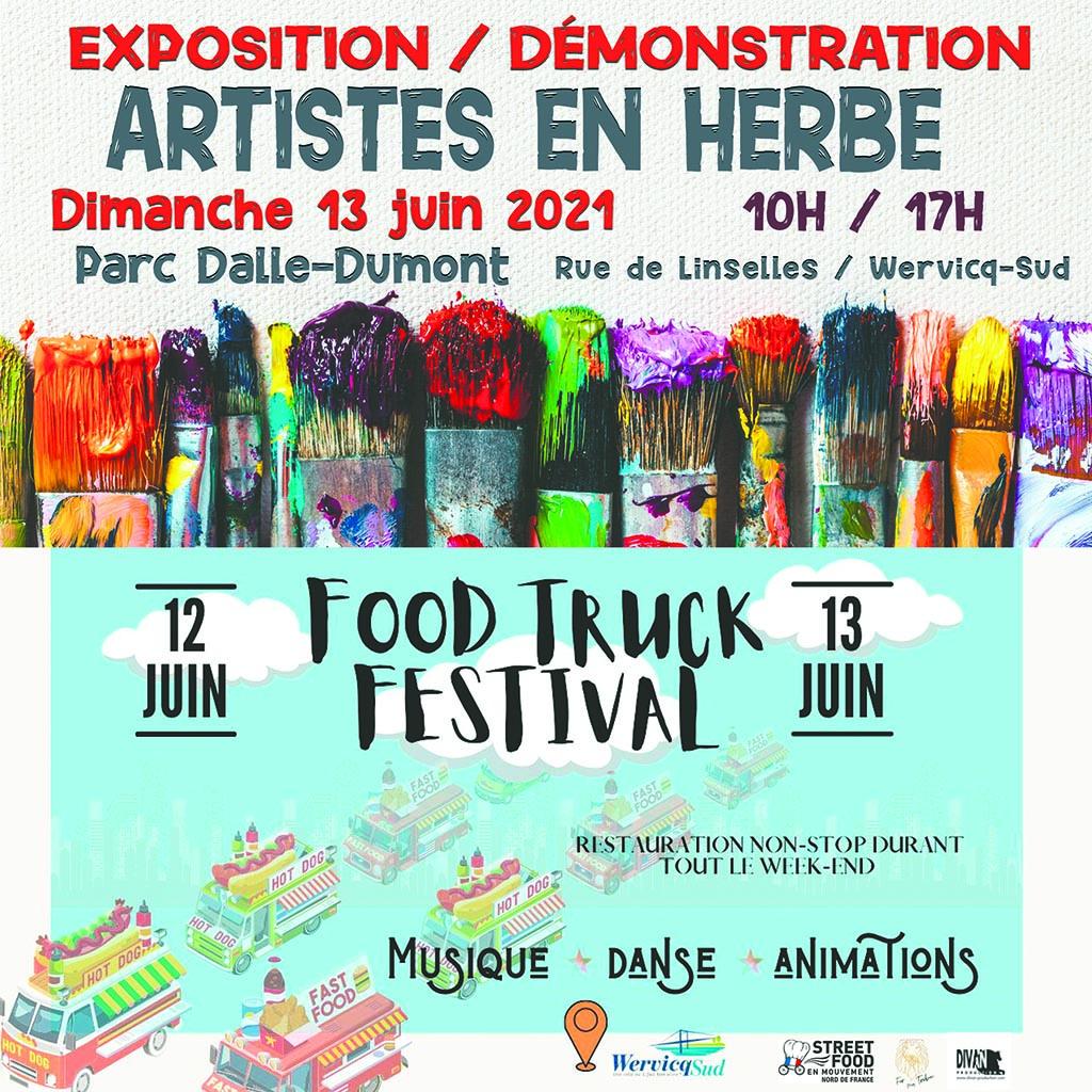 Festival Foodtruck et Artistes en herbe