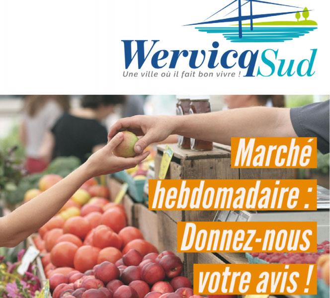 Marché Hebdomadaire : Donnez-nous votre avis !