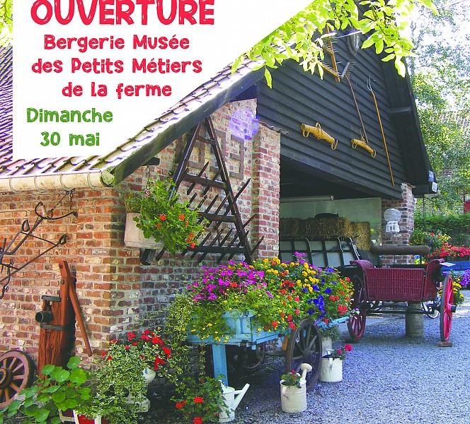 Ouverture de la Bergerie – Musée des petits métiers de la ferme